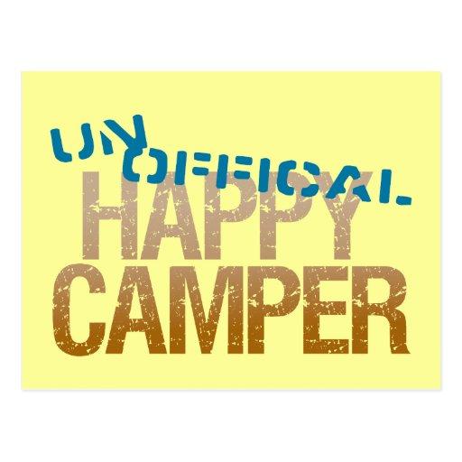 UnOfficial Happy Camper Postcard