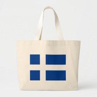 Unofficial Iceland Flag (circa 1900) copy Large Tote Bag