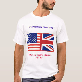 Unofficial UK Walmart (ASDA) Greeter T Shirt