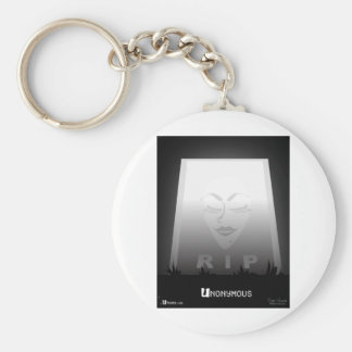Unonymous Grave ® Youra Media Basic Round Button Keychain