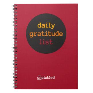 UnPickled Gratitude Journal