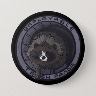 Unplayable Trash Panda Pin - No Lid