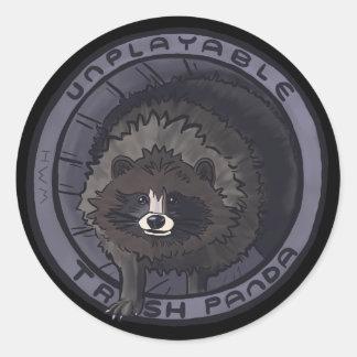 Unplayable Trash Panda Sticker - No Lid