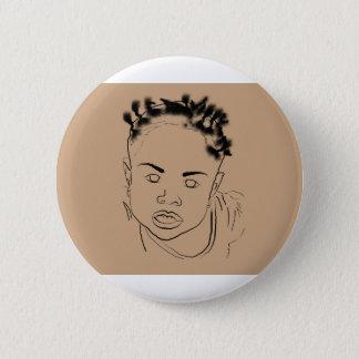 Unpolished Child 2 Inch Round Button
