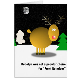 Unpopular Christmas card