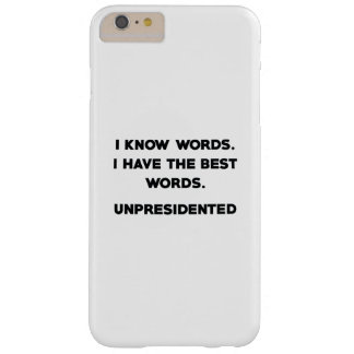 Unpresidented Barely There iPhone 6 Plus Case