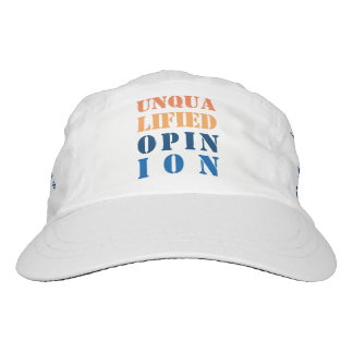 """""""Unqualified Opinion"""" Headsweats Hat"""