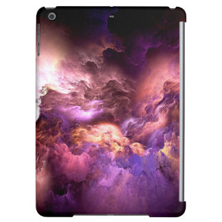 Unreal Purple Clouds iPad Air Cases