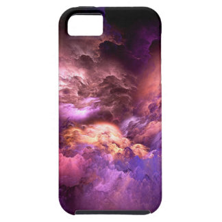 Unreal Purple Clouds iPhone 5 Case