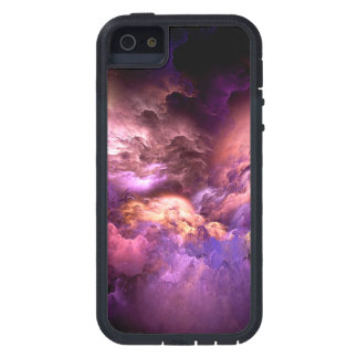 Unreal Purple Clouds iPhone 5 Cases