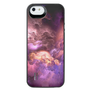 Unreal Purple Clouds iPhone SE/5/5s Battery Case