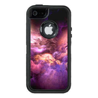 Unreal Purple Clouds OtterBox Defender iPhone Case