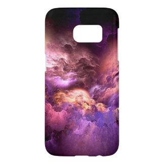Unreal Purple Clouds Samsung Galaxy S7 Case
