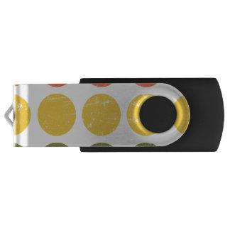 Unreal Tough Bright Brilliant Swivel USB 2.0 Flash Drive