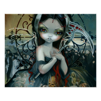Unseelie Court:  Death by Jasmine Becket-Griffith Poster