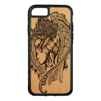 Unseen Angel Carved iPhone 7 Case