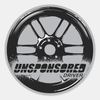 Unsponsored Driver Wheel Sticker