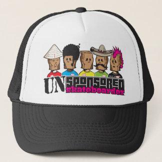 UNsponsored skateboarders Trucker Hat