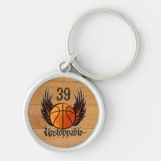 Unstoppable (Basketball) Keychain