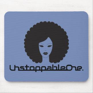 UnstoppableOne Femme Mousepad - blue