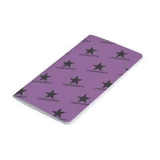 UnstoppableOne Star Pocket Journal - 48pg - purple