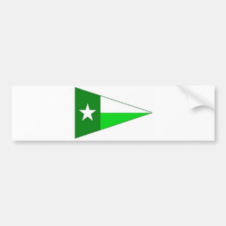 UNT Sailing Burgee Bumper Sticker