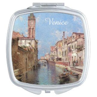 Unterberger's Venice custom pocket mirror Compact Mirrors