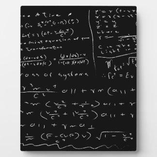 Untidy Chalk Board Plaque