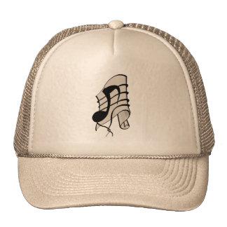 Untie the note trucker hat