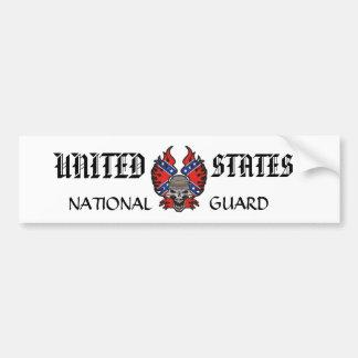 UNTIED STATES NATIONAL GUARD BUMPER STICKER