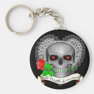 Until death do us part keychain