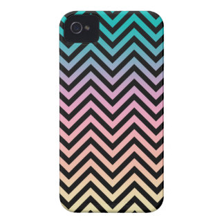 Until Sunset Chevron Black Case-Mate iPhone 4 Cases