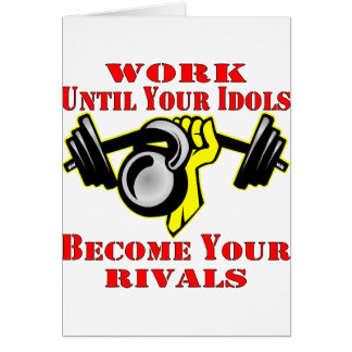 Until Your Idols Become Your Rivals Kettleball Card
