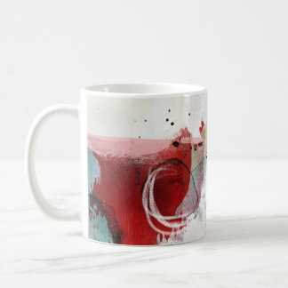 Untitled 1 Abstract Contemporary Coffee Mug