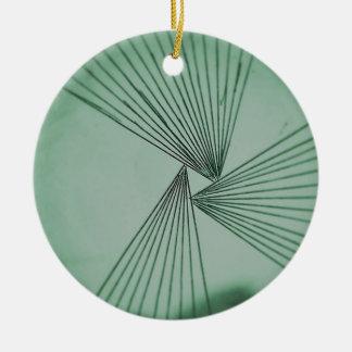 Untitled-30Green Explicit Focused Love Ceramic Ornament