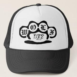 untitled, DTF, Brand, W, O, L, F Trucker Hat