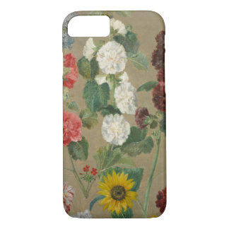 Untitled (Flowers) (oil on board) iPhone 7 Case