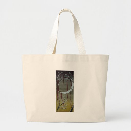 untitled horror moon bag