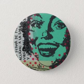 Untitled Pinup 2 Inch Round Button