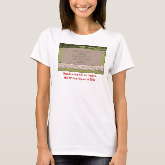 Untitled, Republicans will be back in the White... T-Shirt