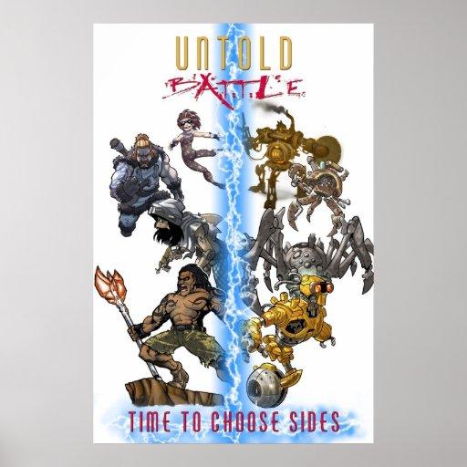 Untold: Battle Poster