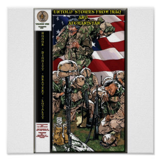 Untold Stories From Iraq & Afghanistan GN poster