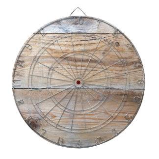 Untreated wood dartboards