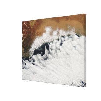 Unusual cloud formations canvas print