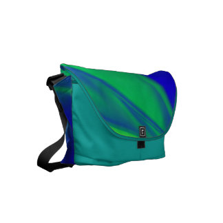 Unusual Color Combo Courier Bag