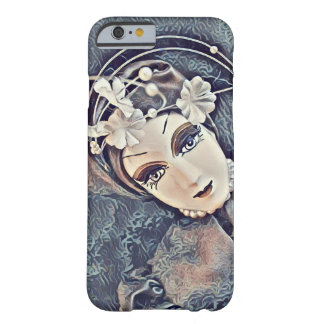 Unusual design - doll face barely there iPhone 6 case