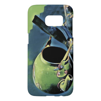 Unusual design - vintage kettle samsung galaxy s7 case