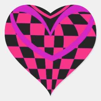 Unusual Hearts Gifts Valentines Day CricketDiane Heart Sticker