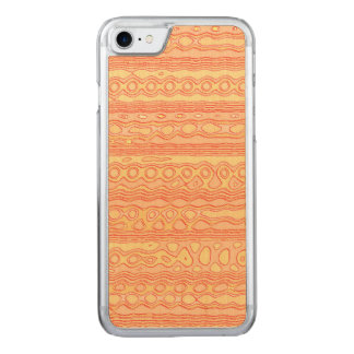 Unusual strange pattern carved iPhone 8/7 case