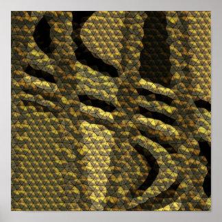 Unusual tile pattern posters